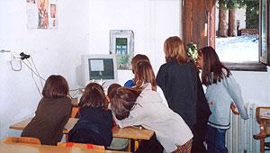 Mali đaci na Kopaoniku
