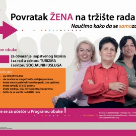 "Project ""The return of women to the labour market"""