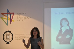"1st and 2nd Round table ""Women in science and technology"", 26 September 2012, Knez Mihailova, Belgrade"
