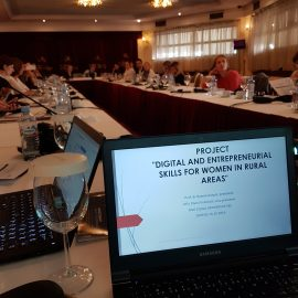 Regionalna konferencija u organizaciji UN Women, Skoplje, oktobar 2019.